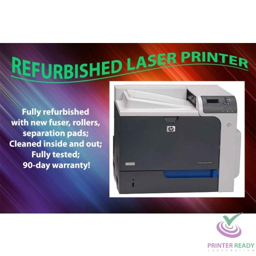 Details about Certified Refurbished HP Color LaserJet CP4525N CP4525 CC493A  Laser Printer with